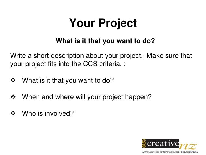 What is it that you want to do?