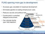 flng opening more gas to development
