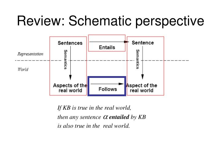 Review: Schematic perspective