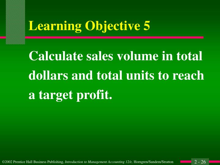Calculate sales volume in total