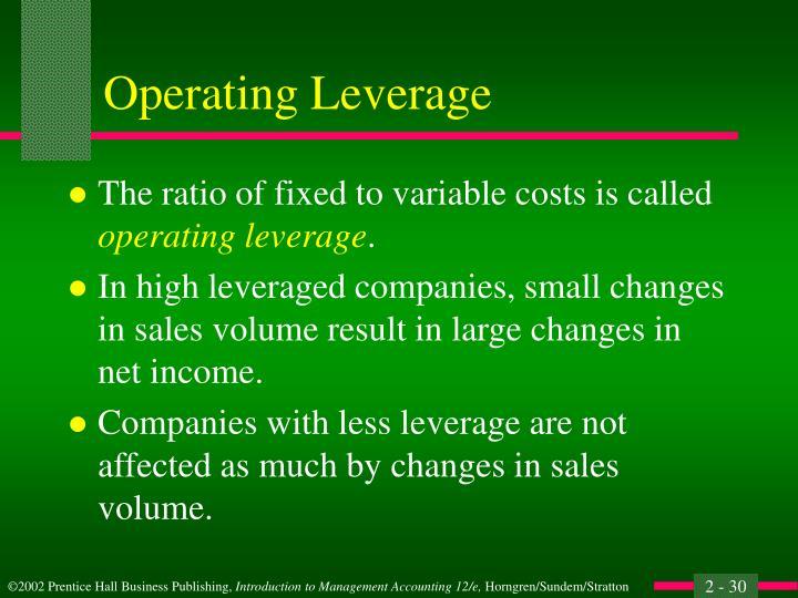 Operating Leverage