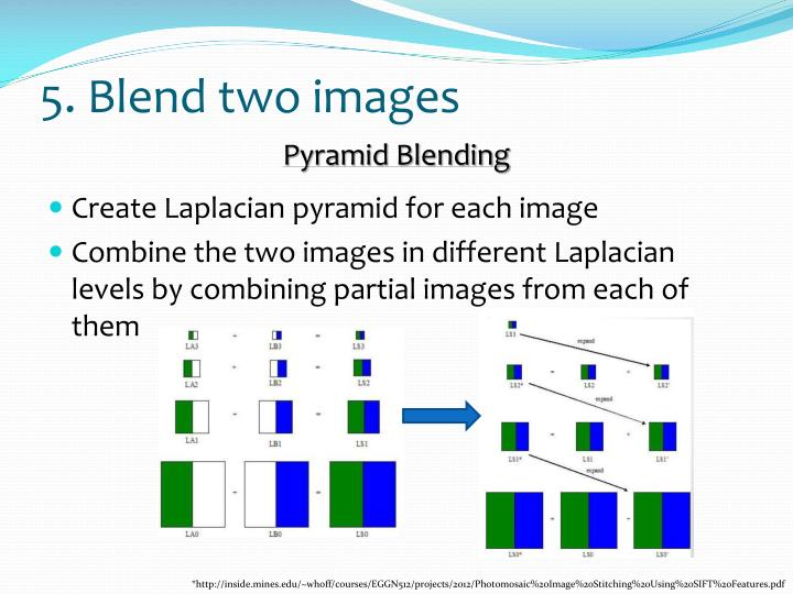 5. Blend two images
