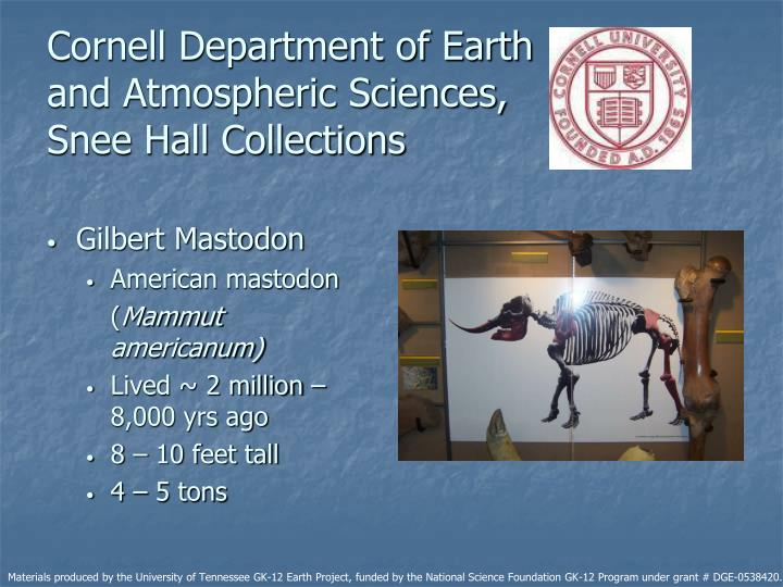 Cornell Department of Earth