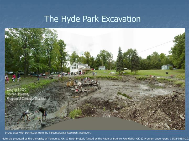 The Hyde Park Excavation