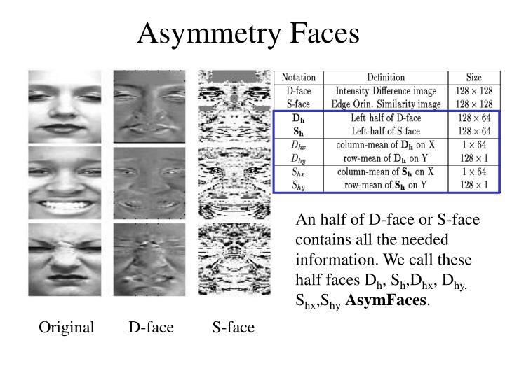 Asymmetry Faces