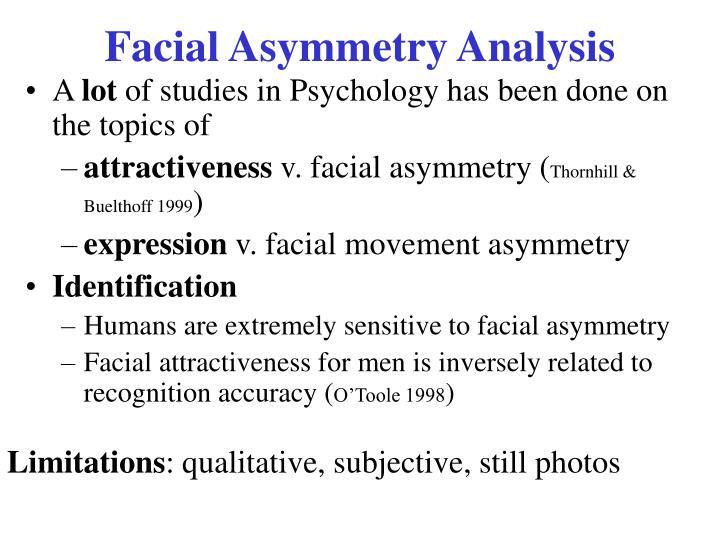 Facial Asymmetry Analysis