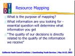 resource mapping