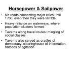 horsepower sailpower