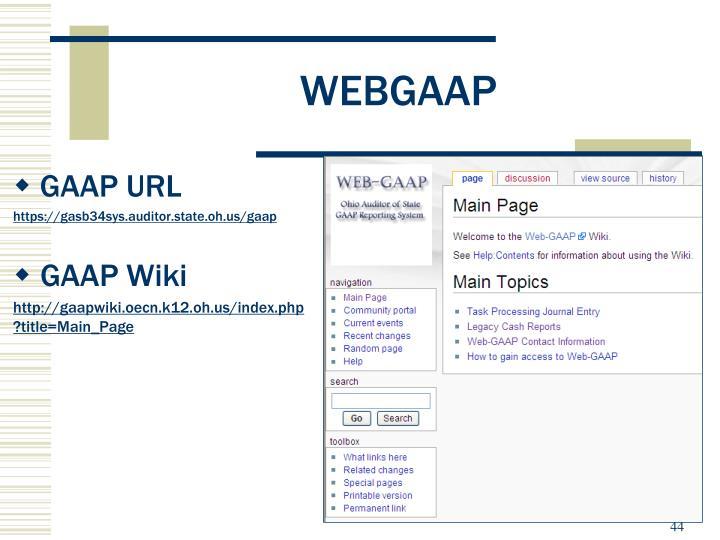 WEBGAAP