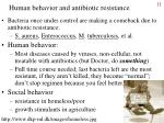 human behavior and antibiotic resistance
