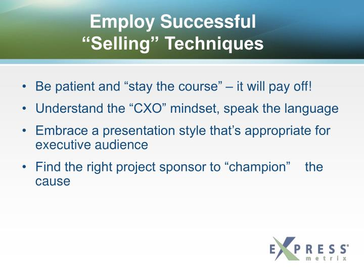 Employ Successful