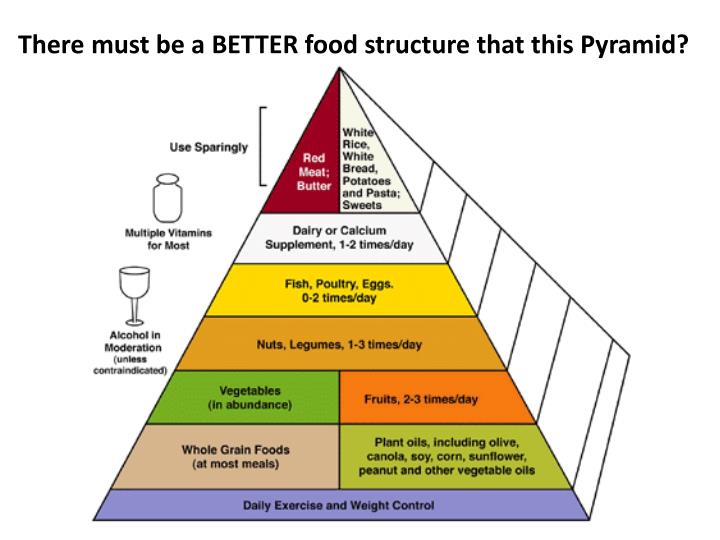 There must be a BETTER food structure that this Pyramid?