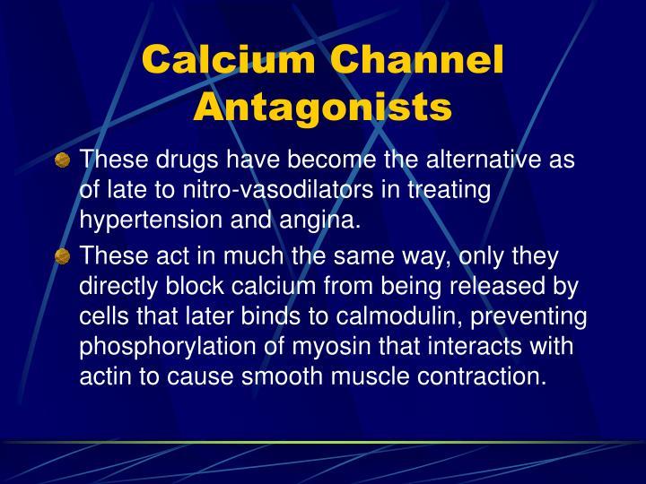 Calcium Channel Antagonists