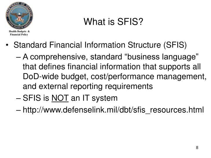 What is SFIS?