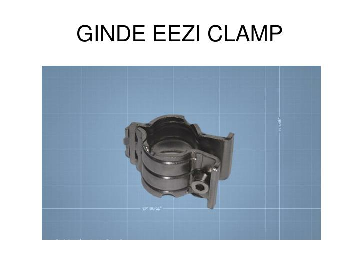 GINDE EEZI CLAMP