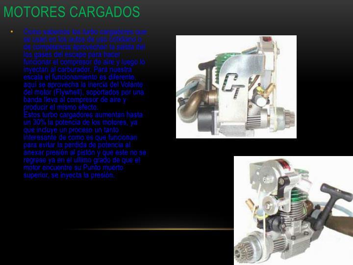 Motores cargados