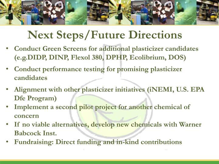 Next steps future directions