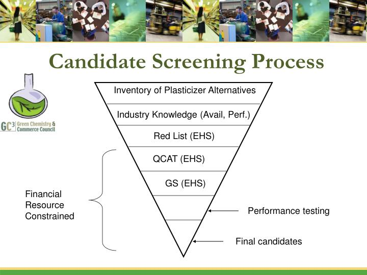 Candidate Screening Process