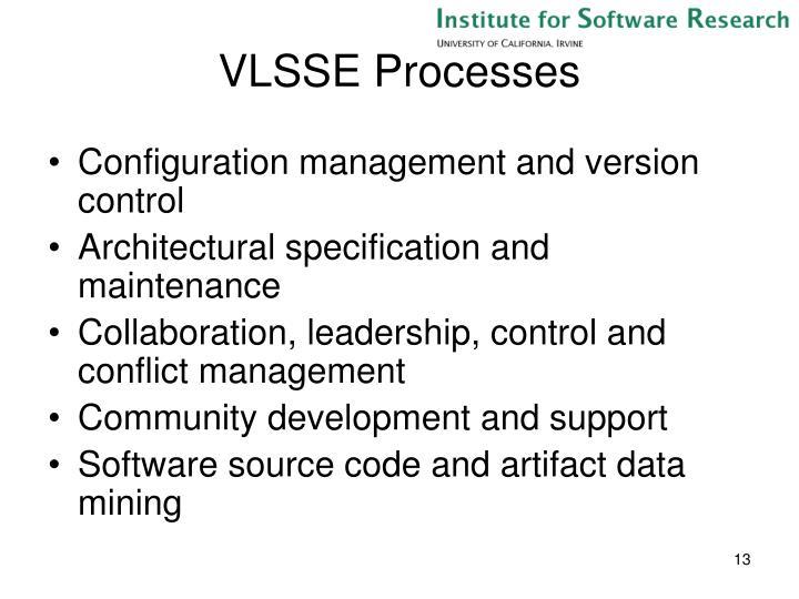 VLSSE Processes