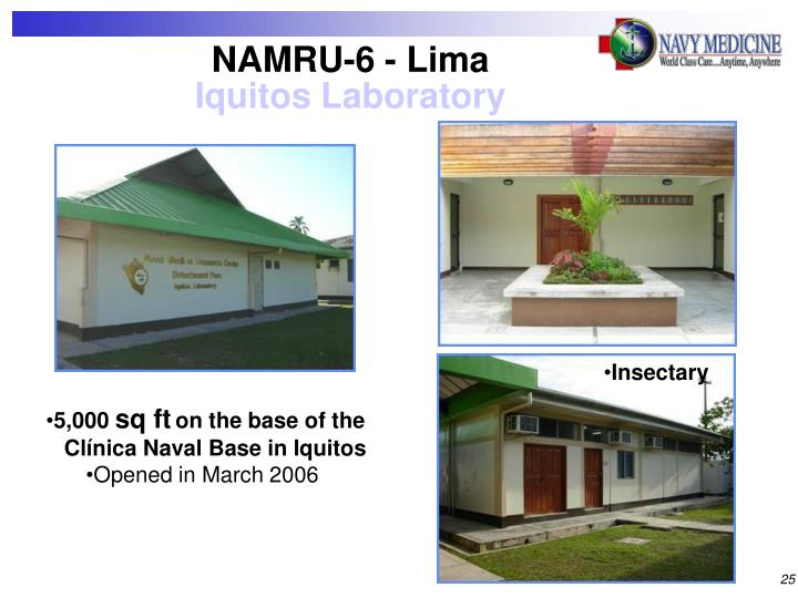 NAMRU-6 - Lima
