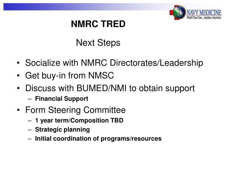 NMRC TRED