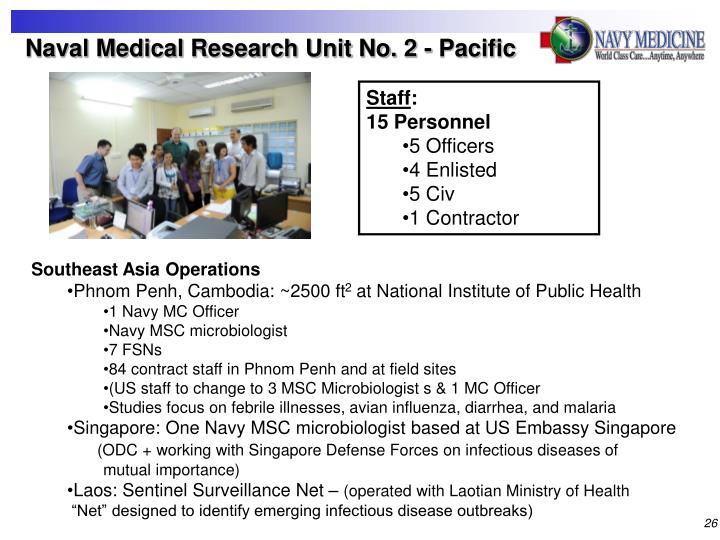 Naval Medical Research Unit No. 2 - Pacific