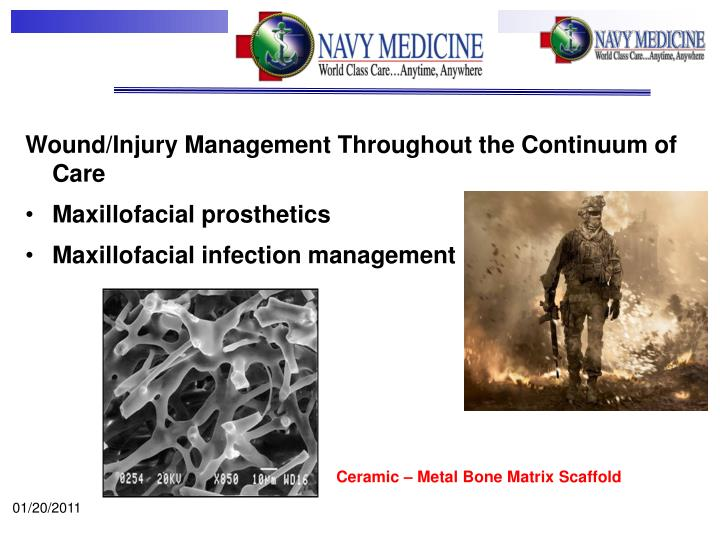 Wound/Injury Management Throughout the Continuum of Care