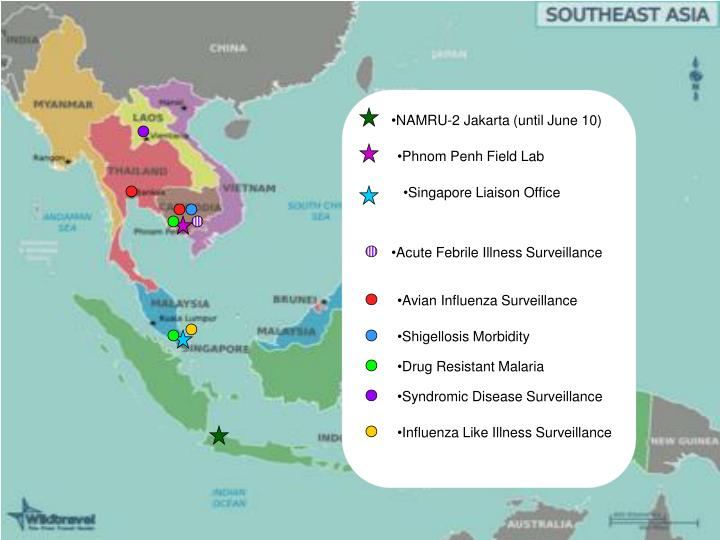NAMRU-2 Jakarta (until June 10)