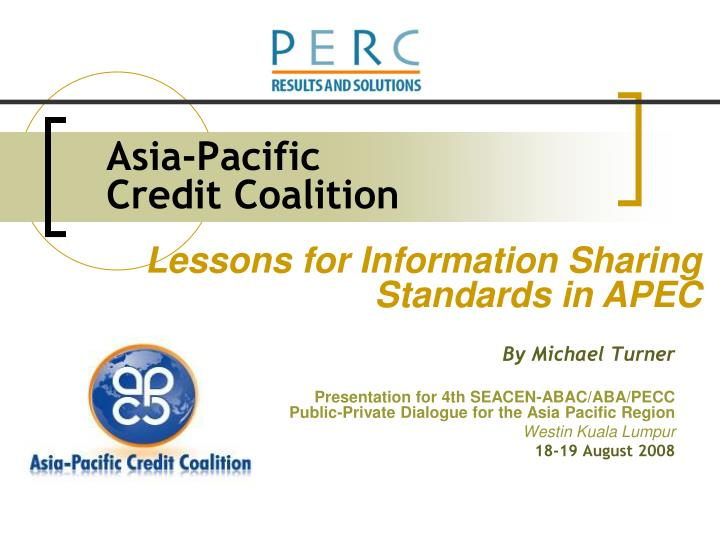 asia pacific credit coalition n.