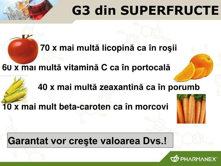 G3 din SUPERFRU