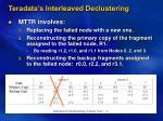 teradata s interleaved declustering1