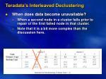 teradata s interleaved declustering3