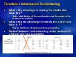 teradata s interleaved declustering8