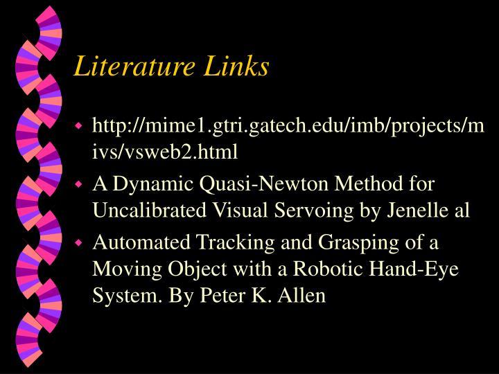 Literature Links