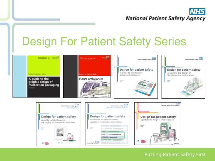 Design For Patient Safety Series