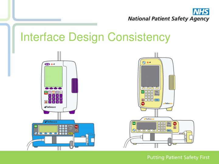 Interface Design Consistency