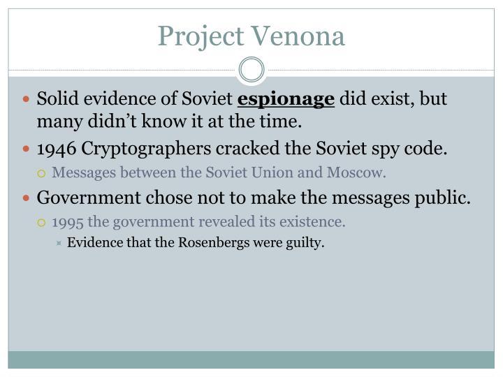 Project Venona