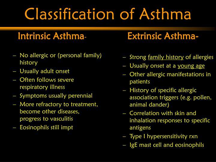 Intrinsic Asthma