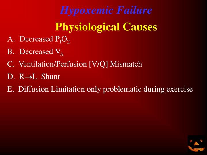 Hypoxemic Failure