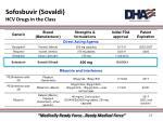 sofosbuvir sovaldi hcv drugs in the class