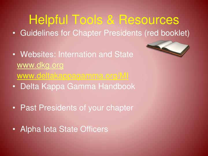 Helpful Tools & Resources