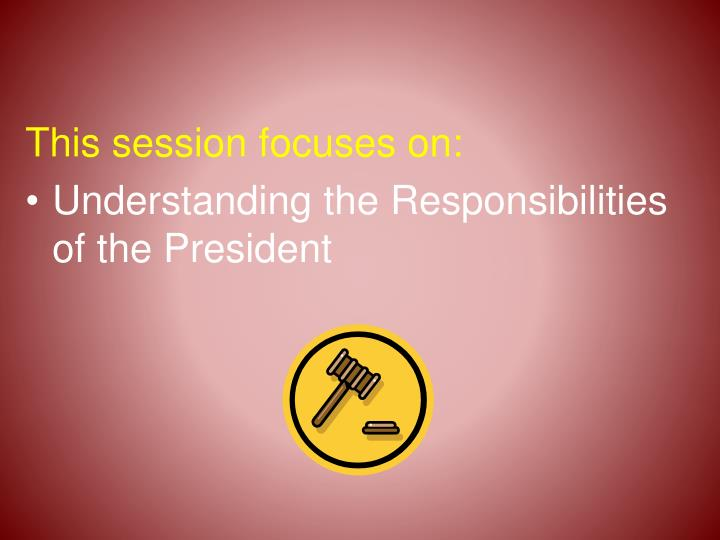 This session focuses on: