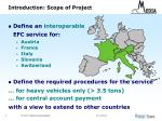 introduction scope of project