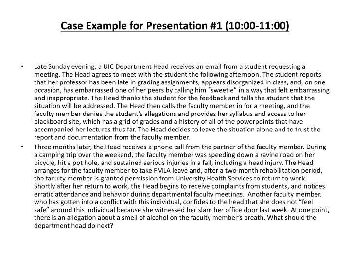 case example for presentation 1 10 00 11 00 n.