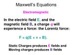 maxwell s equations