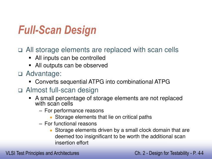 Full-Scan Design