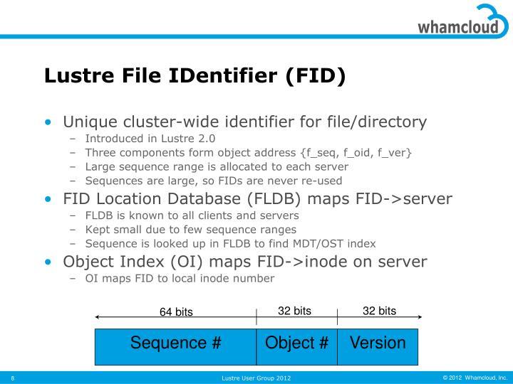 Lustre File IDentifier (FID)
