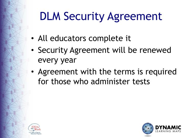 DLM Security Agreement