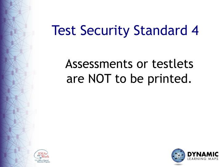 Test Security Standard 4