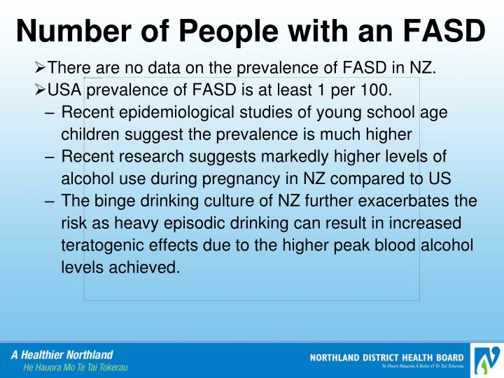 Number of People with an FASD